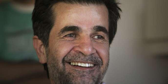 Jafar Panahi peu de temps après sa sortie de prison, en mai 2010.
