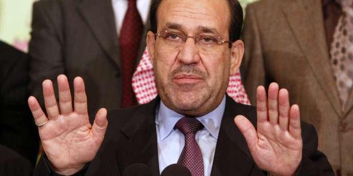 Le premier ministre irakien, Nouri Al-Maliki.