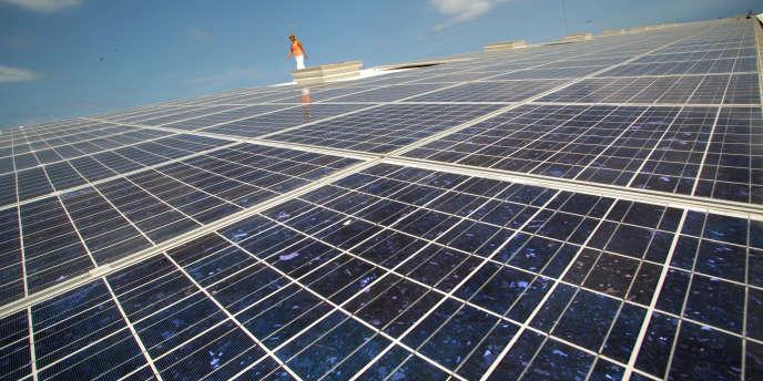 Trente gigawatts d'énergie solaire ont été installés en 2012.