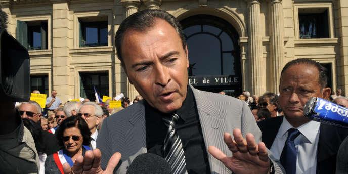 Lionnel Luca, député UMP des Alpes-Maritimes, en mai 2010.
