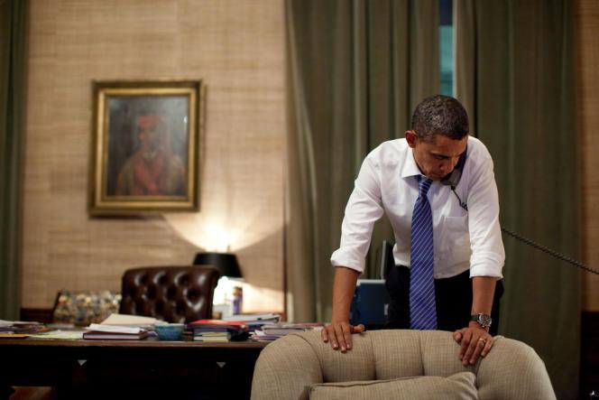 Barack Obama à la Maison Blanche, à Washington, le 23 novembre.