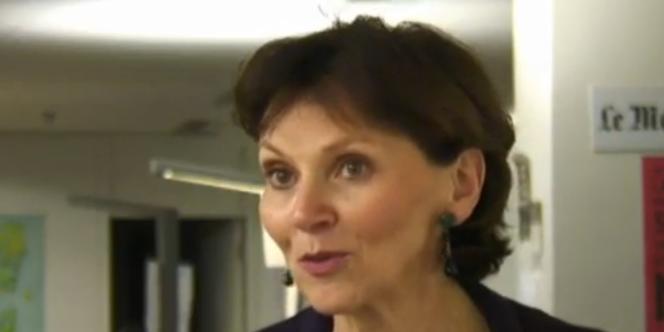 Sylvie Kauffmann, la directrice de la rédaction du