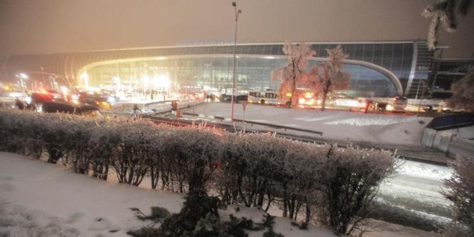 L'aéroport Domodedovo à Moscou, dimanche 26 décembre.
