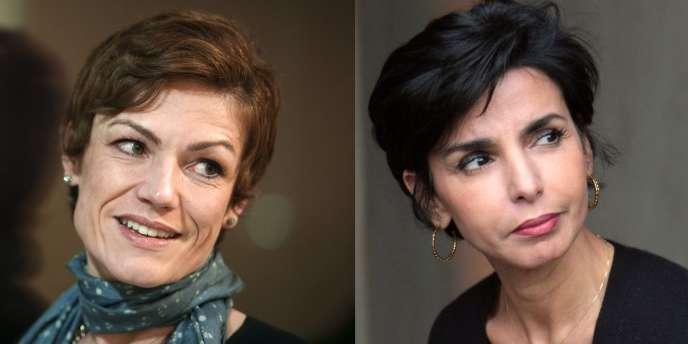 La ministre des sports, Chantal Jouanno, et la maire du 7e arrondissement de Paris, Rachida Dati.