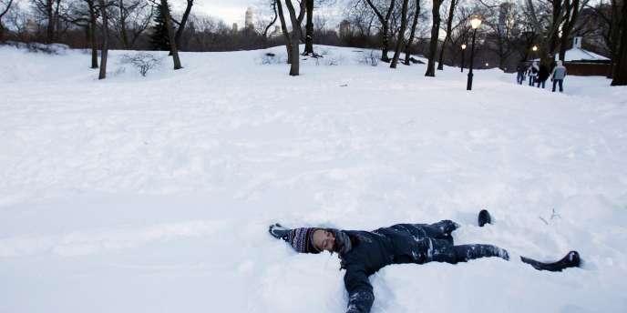 A Central Park, lundi 27 décembre.