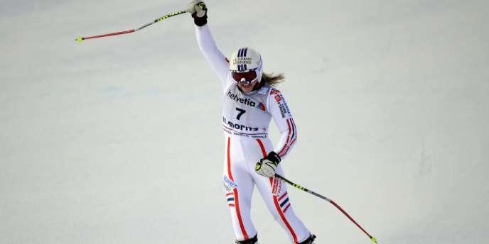 Tessa Worley s'est imposée lors des géants d'Aspen et de Saint Moritz.