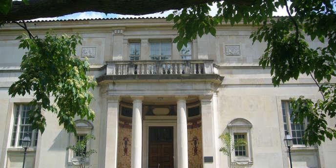 L'entrée de la Fondation Barnes, dans la banlieue de Philadelphie.