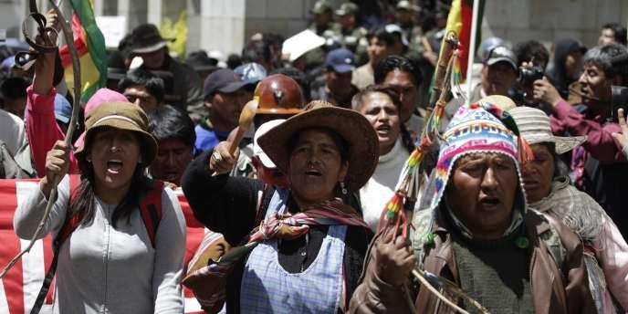 Grèves et manifestations avaient été organisés en Bolivie jeudi 30 décembre, contre la hausse des carburants.