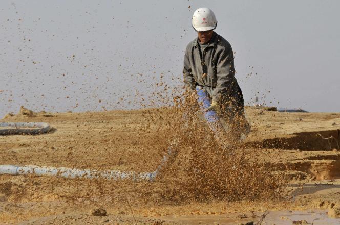 Extraction de métaux rares en Chine, dans la mine du district de Nancheng, dans le sud-est du pays.