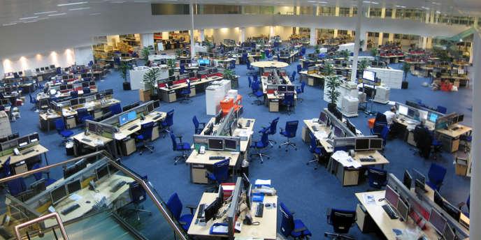 La salle de rédaction du