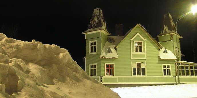 Kiruna, au nord de la Suède. Depuis quinze ans, le prix au mètre carré des appartements a plus que quadruplé dans le royaume, celui des villas a presque triplé.