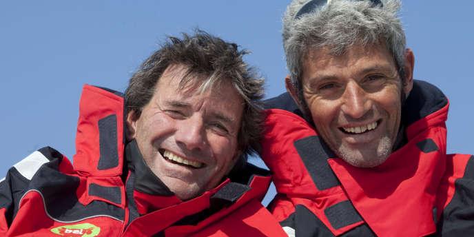 Kito de Pavant et Sébastien Audigane le 13 mars à La Grande-Motte.