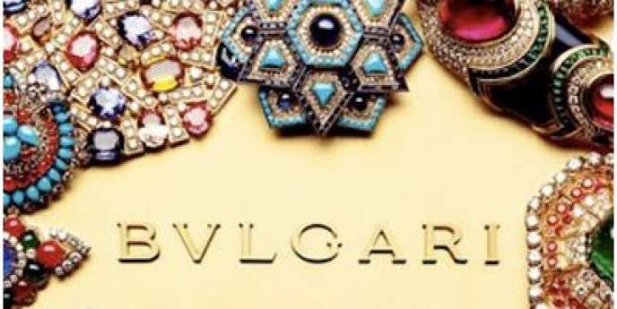 Logo de l'enseigne de luxe Bulgari.