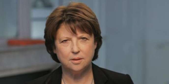 La première secrétaire du PS s'est lancée fin novembre dans la course à l'investiture présidentielle.
