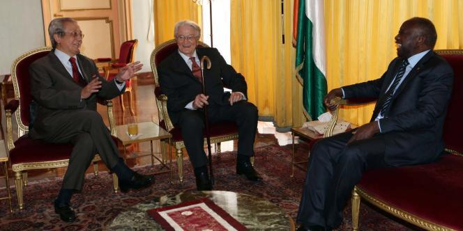 Jacques Vergès s'était associé en 2010 à l'ancien ministre Roland Dumas pour défendre le président ivoirien Laurent Gbagbo dans son combat contre Alassane Ouatarra.