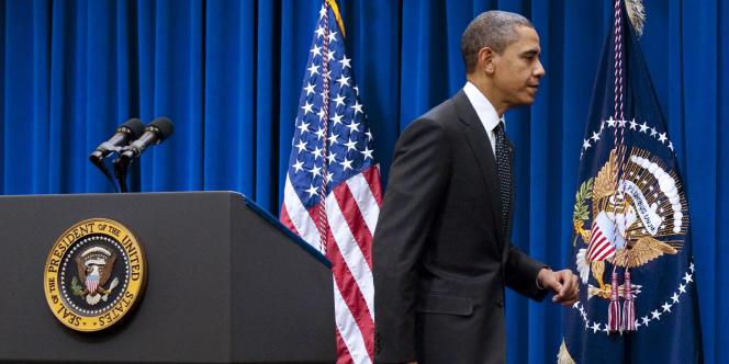 Barack Obama le 15 décembre à Washington.