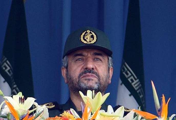 Le commandant en chef des pasdarans (gardiens de la révolution), le général Mohamad Ali Jafari.