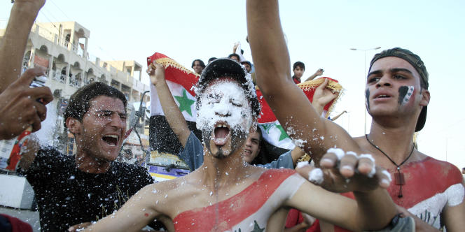 La victoire de l'Irak à la coupe d'Asie 2007 avait déclenché des manifestations de joie dans tout le pays.