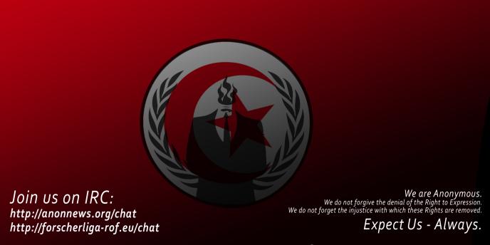 Le collectif Anonymous a lancé une