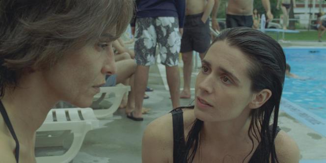Lubna Azabal et Mélissa Désormeaux-Poulin dans le film canadien de Denis Villeneuve,