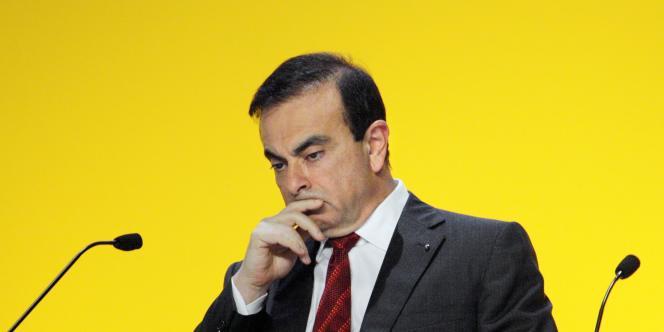 Le PDG de Renault, Carlos Ghosn, en avril 2010.