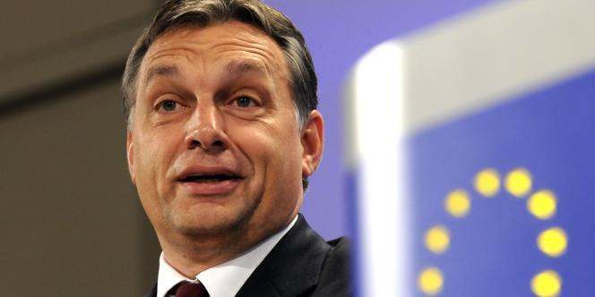 Viktor Orban, le premier ministre hongrois, le 17 novembre 2010.