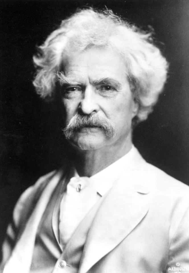 Portrait non daté de Mark Twain, conservé au musée Mark Twain, à Hannibal (Missouri).