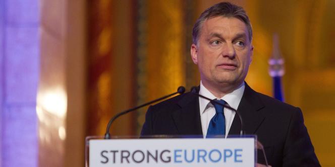 Le premier ministre hongrois Viktor Orban à Budapest, le 6 janvier 2011.