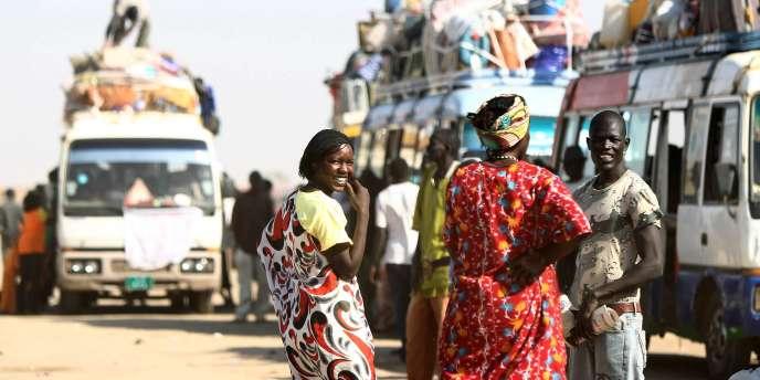 Scène de rue à Khartoum, le 6 janvier 2011.