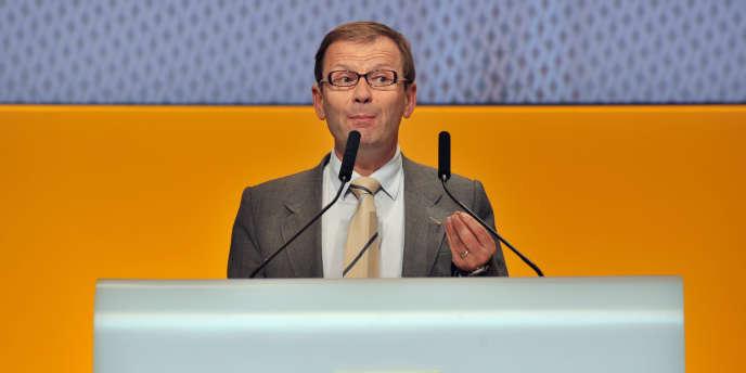 Patrick Pélata, directeur général délégué de Renault, en avril 2010.