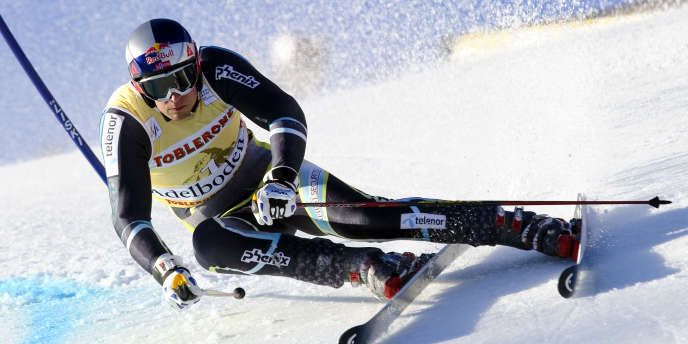 Le Norvégien Svindal a remporté samedi le slalom géant d'Adelboden ex aequo avec le Français Cyprien Richard.