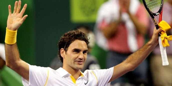 Roger Federer s'est adjugé samedi au Qatar son 67e titre sur le circuit ATP.