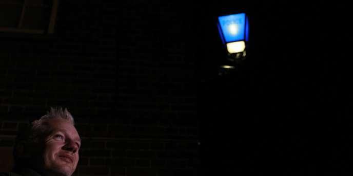 Julian Assange à Beccles, en Angleterre, le 24 décembre.