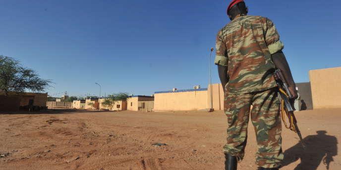 Un soldat nigérien dans le nord du pays.