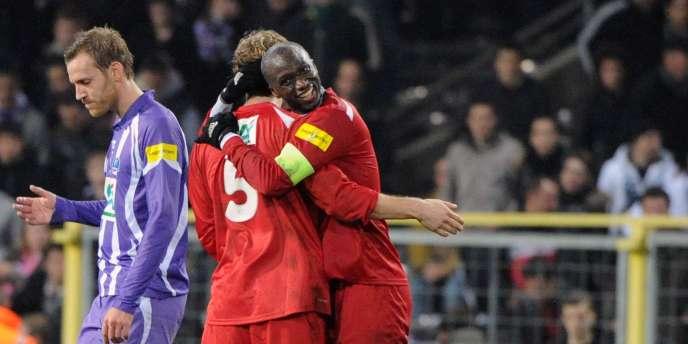 Les Parisiens s'étaient imposés 2-1 grâce à Vincent et Touré à Toulouse en 32e de finale.