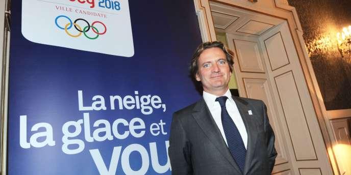 Charles Beigbeder le 10 janvier 2011 à Annecy.