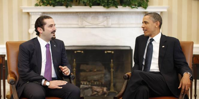 Saad Hariri était à Washington, avec Barack Obama, quand il a appris la démission des ministres du bloc du 8 Mars.