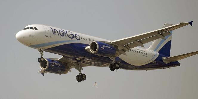 Un A320 de la compagnie IndiGo, le 12 janvier 2011, à Bombay.