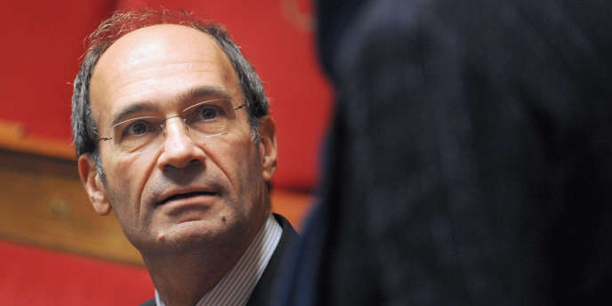 Eric Woerth, ancien ministre du budget, le 14 décembre 2010 à l'Assemblée nationale.
