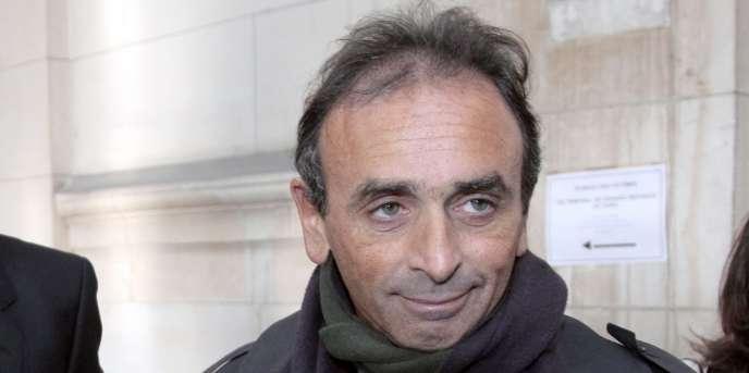 Eric Zemmour, à Paris, en 2011.