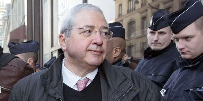 Le président du conseil régional d'Ile-de-France, Jean-Paul Huchon, à Paris, le 12 janvier 2011.