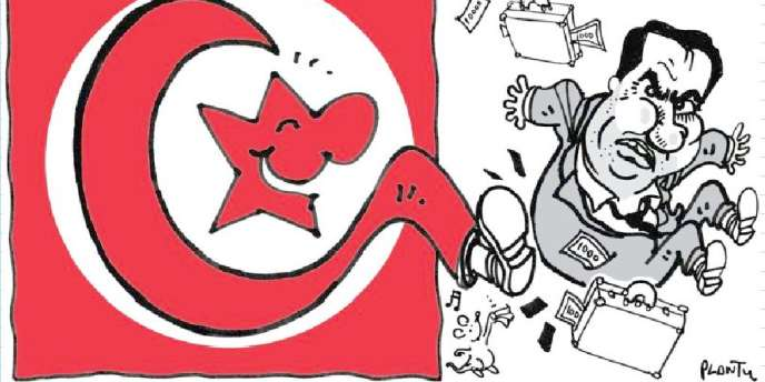 Tunisie, par Plantu