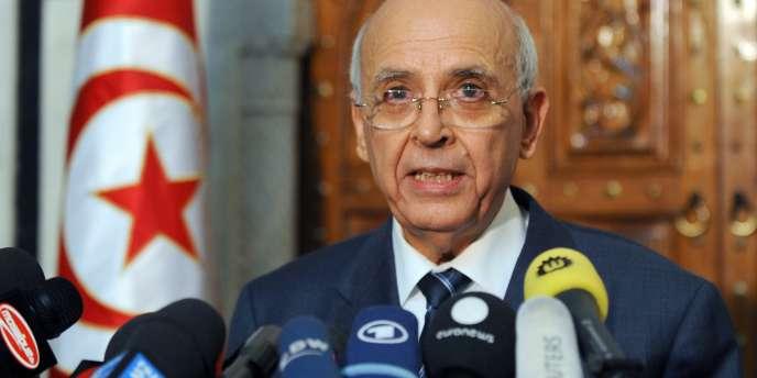 Mohammed Ghannouchi, premier ministre tunisien.