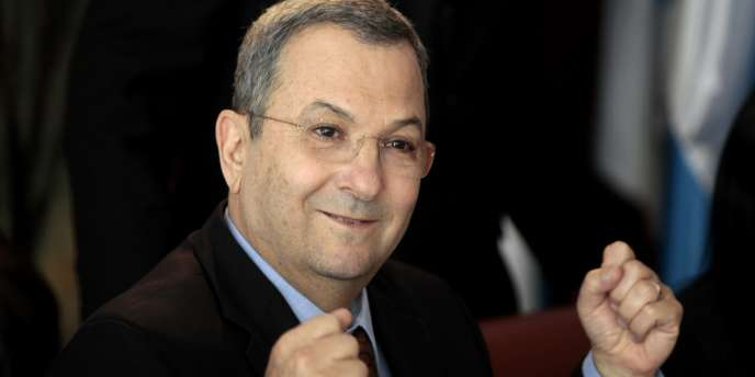 Ehoud Barak à Jérusalem, le 17 janvier 2011.