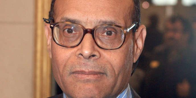 Moncef Marzouki, le président tunisien.