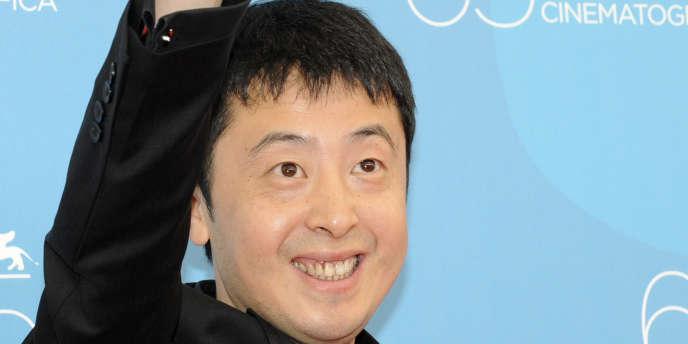 Le réalisateur chinois Jia Zhang-ke au 65e Festival international du film de Venise, le 29 août 2008.