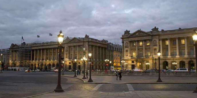 Place de la Concorde, à Paris.