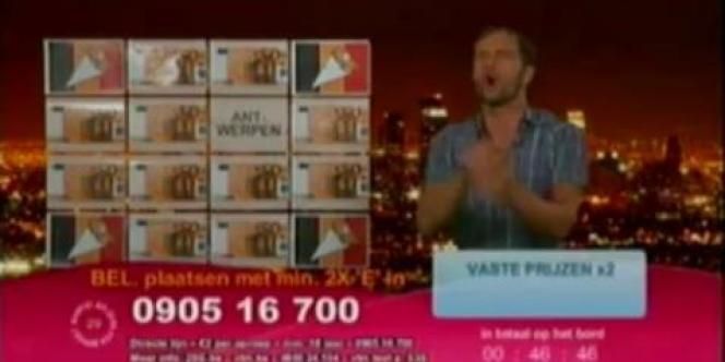 Maxime De Winne a joué les présentateurs