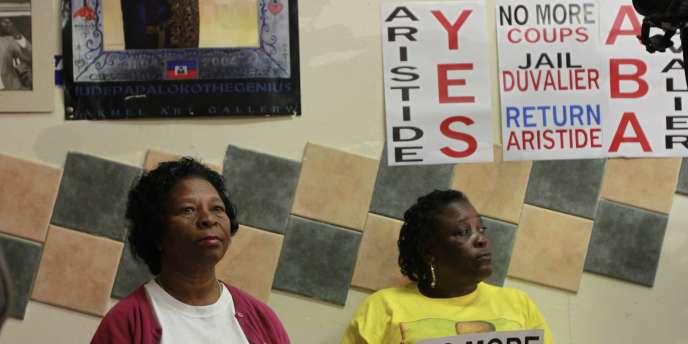 Aristide avait été élu président en 1990, lors de la première élection suivant le renversement de