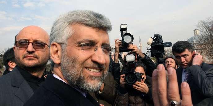 Le chef des négociations sur le nucléaire iranien, Saeed Jalili.